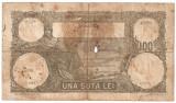 ROMANIA 100 LEI MARTIE 1931 U