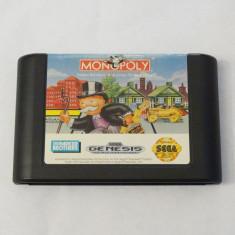 SEGA Megadrive Mega Drive - Monopoly, Sporturi, Toate varstele, Single player