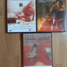 3 DVD-uri  Valizele lui Tulse Luper - regia Peter Greenaway, Romana, new films