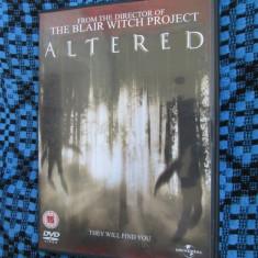 ALTERED (1 FILM DVD ORIGINAL GROAZA / HORROR)