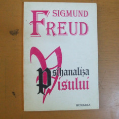 Psihanaliza visului Sigmund Freud 1995