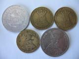 Romania (5): 5 Lei 1978, 20 Lei 1991, 1992, 1993, 100 Lei 1994