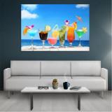 Tablou Canvas Cocktails, Dimensiunea 80 x 50 cm