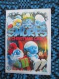THE SMURFS - A CHRISTMAS CAROL (1 DVD ORIGINAL FILM ANIMATIE - IN TIPLA!!!), Engleza