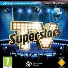 TV Superstars - PS Move - PS3 [SIGILAT], Board games, Toate varstele, Multiplayer