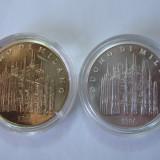 Italia (2): monede de colectie Milano - Domul + Madonnina, Europa