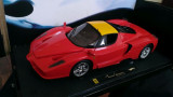 Macheta Ferrari Enzo - HotWheels Elite 1/18, noua, 1:18, Hot Wheels