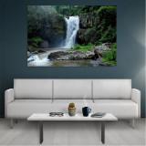 Tablou Canvas Waterfall, Dimensiunea 80 x 50 cm