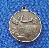 Medalie / medalion Vanatoare - Romania - Cerb - Danubius hunters