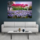 Tablou Canvas Flowers, Dimensiunea 80 x 50 cm