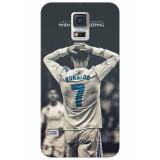 Husa Hardcase Samsung Galaxy S5 Cristiano Ronaldo, Plastic, Carcasa