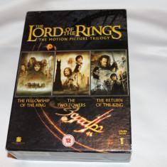 [DVD] Boxset Trilogia Lord of The Rings, Engleza