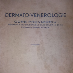 DERMATO-VENEROLOGIE CURS PROVIZORIU 1951