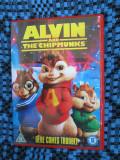 ALVIN AND THE CHIPMUNKS - 1 DVD ORIGINAL FILM ANIMATIE - CA NOU!, Engleza