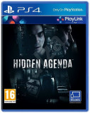 Hidden Agenda - PS4 [SIGILAT], Role playing, 18+, Single player