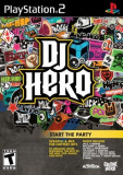 DJ Hero - PS2 [SIGILAT], Board games, 3+, Multiplayer