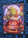 SCARED SHREKLESS - 1 DVD ORIGINAL FILM ANIMATIE - CA NOU!, Engleza