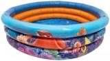 Piscina gonflabila pentru copii , 100cm, 3 inele, Fiding Nemo , Disney