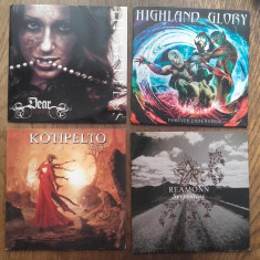 CD-URI MUZICA ROCK, POP-ROCK, LOT 4 CD-URI