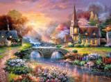 Puzzle Castorland - 3000 de piese - James Lee : Peaceful reflections