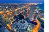 Puzzle Castorland - 3000 de piese - Towering Dreams Dubai