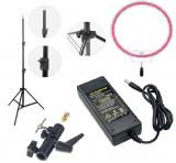 Kit lumina continua Lampa Yongnuo YN608RGB+ alimentator+ stativ + suport orientabil