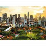 Puzzle Trefl - 3000 de piese - Sunset in Bangkok