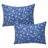 Set 2 fete de perna decorative, BonDia, Model Nathalie 611, 50 cm x 70 cm