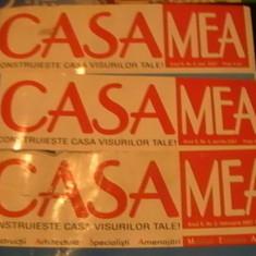 3 REVISTE CASA MEA-FEBR.-APRILIE SI MAI/2007-