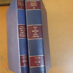 Anchete de drept comparat scopuri metode legea marcilor 2 volume 1970