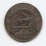 Africa de Est 1 Shilling 1925 - George V, Argint 7.78g/250, 27.8 mm KM-21