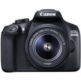 Aparat foto DSLR EOS 1300D BK, 18.0 MP + Obiectiv EF-S 18-55mm DC + Obiectiv EF 50mm/f1.8, Canon