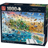 Puzzle King 1000 Despre lume