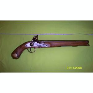 Pistol flinta haiducesc replica de epoca superb