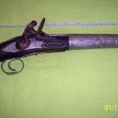 Pistol haiducesc turcesc de panoplie de epoca