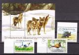 Uzbekistan  2014  fauna  MI 1093-96  + bl.70  MNH  w51, Nestampilat