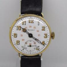 Ceas DOXA aur 18k anul 1910