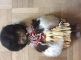 Negresa Păpușa De Colecție In Costum African