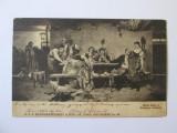 Carte postala cenzurata Regim.Infan.Alfons XIII,circulata Focsani-Odobesti 1919, Printata
