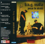 Vand caseta audio Bug Mafia-Poezie de Strada,originala, Casete audio, cat music