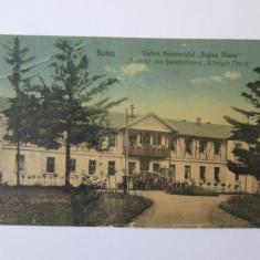 Solca-Bucovina,carte postala necirculata anii 20, Printata