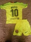 SET ECHIPAMENT MESSI F.C.BARCELONA 4-15ANI SEZON 2018-2019, M, S, XS, XXL, Set echipament fotbal