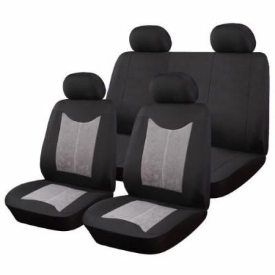 Huse Scaune Auto Daihatsu Rocky RoGroup SuedenPolyester 9 Bucati foto