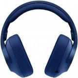 Casti cu microfon Gaming Logitech G433, 7.1 Surround (Albastru)