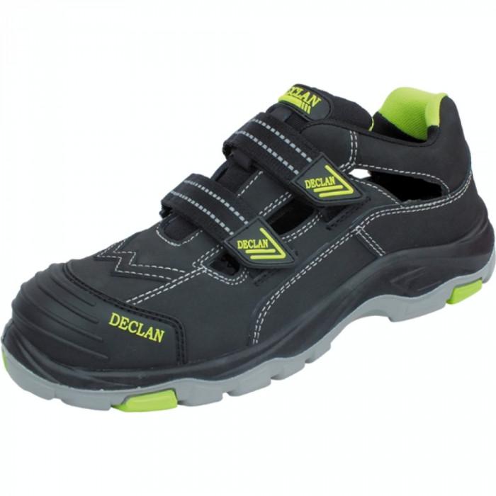 Pantofi Sandale protectie cu bombeu  si talpa captusita cu kevlar