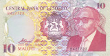 Bancnota Lesotho 10 Maloti 1990 - P11 UNC