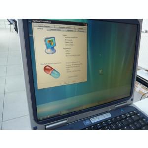 HP Pavilion ze1210 - Display 14.1 Laptop vintage cu windows xp Athlon 1400+