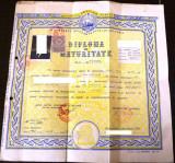 Diploma  de Maturitate  RPR
