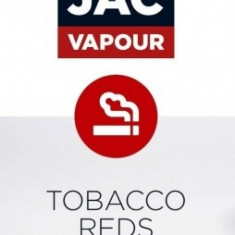 Lichid Tigara Electronica Premium Jac Vapour Tobacco Reds USA 10ml, Nicotina 12mg/ml, 50%VG 50%PG, Fabricat in UK