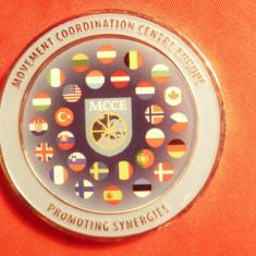 Placheta-Medalie-MCCE-Miscarea de Coordonare in Europa pt promovare legaturi ec